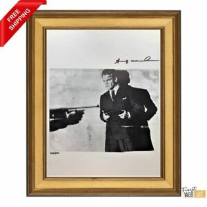 James Cagney Movie by Andy Warhol Original Hand Signed Print with COA $200.00