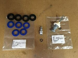 Fleck 5600 Complete Rebuild Kit Upgraded Blue Silicone Seal Kit