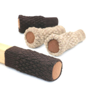 4pcs Chair Leg Socks Anti Scratch Furniture Cover Floor Protector Knitted Sleeve $1.26