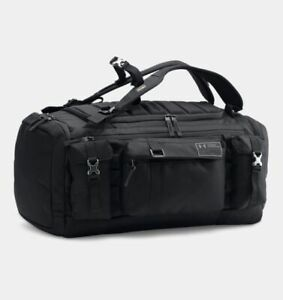 UNDER ARMOUR CORDURA RANGE DUFFLE BAG BLACK ROCK AUTHENTIC ARMOR UA $350.00