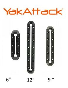 Yakattack Mighty Mount XL Track Mount System For Kayak Fishing Accessorie 6912