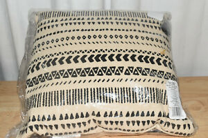 Better Homes amp; Gardens Stripe amp; Tassels Decorative Throw Pillow 18quot;x18quot; $24.34