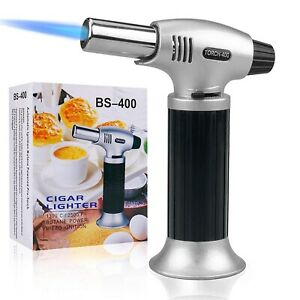 Cooking Torch Lighter Tintec Chef Culinary Blow Torch with Safety Lock for Cook $18.52