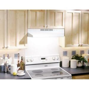 Kitchen 42#x27; Exhaust Hood Stove Fan 190 CFM DUCTED Under Cabinet