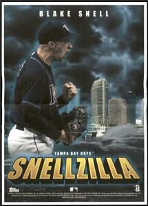 2020 Archives Box Topper Mini Poster Blake Snell Tampa Bay Rays $5.99