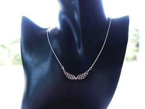 16quot; Sterling Silver Angle Wing Necklace Fashion Woman Necklace $17.00
