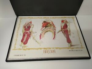 FARSCAPE LITHOGRAPH RARE AND COLLECTIBLE IN DELUXE BOOK COVER $59.95