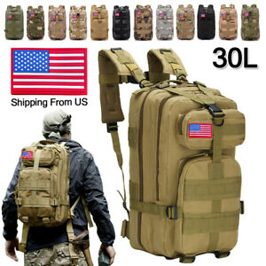 30L Outdoor Military Camping Backpack Tactical Camping Hiking Travel Bag