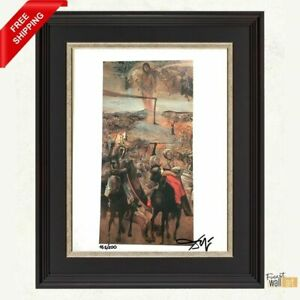 The Battle of Tetuan by Salvador Dali Original Hand Signed Print with COA $248.00
