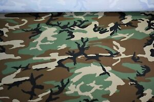 Water Repellent Apparel Taslan True Timber Woodland Camouflage Fabric 61quot; Wide