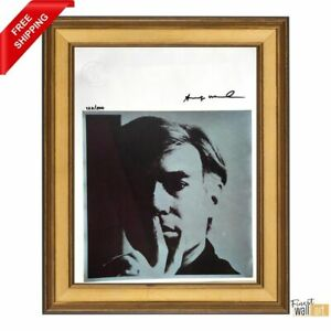 Self Portrait by ANDY WARHOL Original Hand Signed Print with COA $300.00
