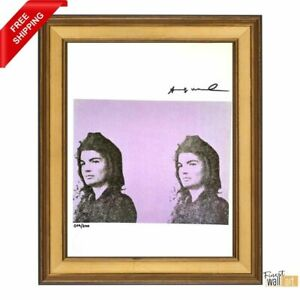 Jacqueline Kennedy by ANDY WARHOL Original Hand Signed Print with COA $295.00