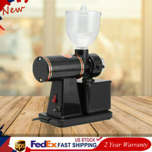 100W Home Commercial Electric Automatic Espresso Coffee Grinder Burr Mill NEW