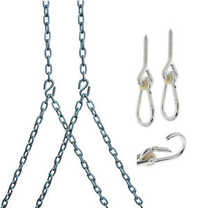 Barn Shed Play Heavy Duty 700 Lb Porch Swing Hanging Chain Kit