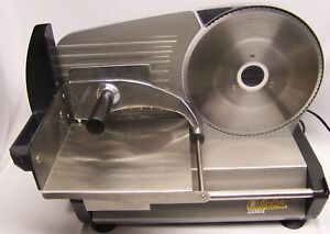 Nice PreOwned CABELA#x27;S 8.7 inch Deluxe Food Slicer in Original Box