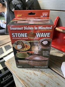 Stone Wave Microwave Cooker As Seen on TV Factory Sealed Stonewave cooker