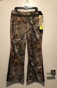 Under Armour Women's Cold Gear Infrared Camo Hunting Pants XL XLarge 1247104 340