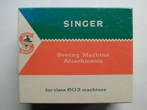 Singer BOX ONLY For Sewing Machine Attachments For 603 Machines Part No. 161796 $5.35