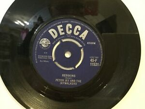 Peter Jay And The Jaywalkers – Can Can #x27;62 7quot; Vinyl Single 1962 REF.G6 GBP 3.25