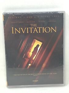 BRAND NEW The Invitation Blu ray DVD Digital w Booklet FREE SHIPPING $6.99