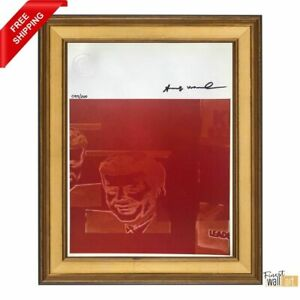 Flash November 22 by Andy Warhol Original Hand Signed Print with COA $100.00
