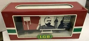 LGB TRAINS BICENTENNIAL FRENCH REVOLUTION CAR #4028FR EXCELLENT IN BOX FREE SHIP