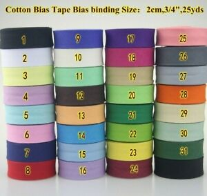Bias Binding Tape Cotton Bias Tape Sewing Rack Trims For Needlecraft Tool New $12.80