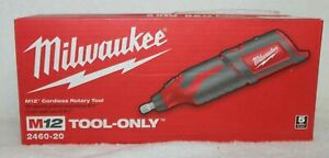 Milwaukee 2460 20 12 Volt M12 Cordless Rotary Tool Tool Only NEW IN BOX