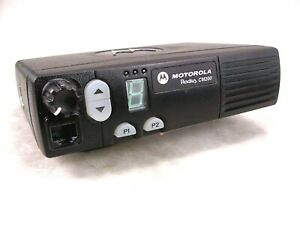 Motorola CM200 VHF 45W Mobile Radio w New Accessories
