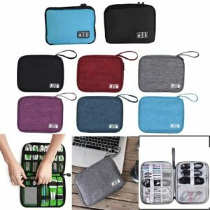 Travel Cable Organizer Accessories Gadget Bag Portable USB Charger Case Storage $7.98
