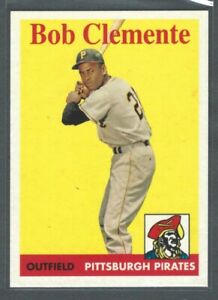 2016 Topps Berger#x27;s Best Roberto Clemente #BB2 1958 Pittsburgh Pirates