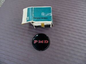 NOS PONTIAC 1967 BONNEVILLE CATALINA CUSTOM HUB CAP CENTER LUCITE EMBLEM 5
