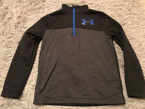 Boys Under Amour Youth Small Half Zip Pullover $9.99