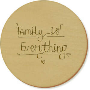 #x27;Family Is Everything Text#x27; Coaster Sets Placemats CR018124 $11.99