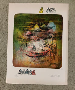 "Hoi Lebadang Lithograph Signed Numbered 134 260 MCM 22""x30"" $150.00"