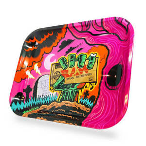 RAW Zombie Large Metal Rolling Tray $13.62