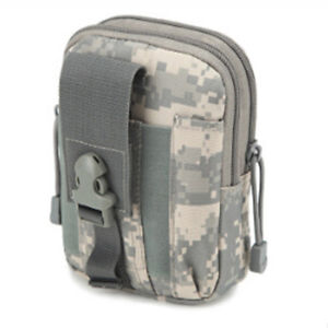 Outdoor Tactical Molle Belt Utility Pouch Waist Pack Phone Bag Hunting Holder SG