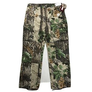 """VTG WALLS Camouflage Hunting Pants Men's XL x 33"""" Inseam Outdoors Camping NEW"""