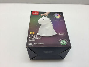Globe Electric Tommy the Dinosaur color Changing LED Silicone Night Lamp 13099 $20.47