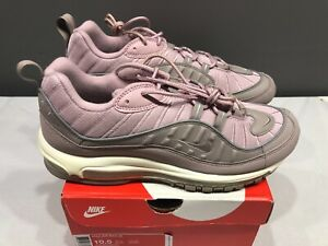 NEW Nike Mens Air Max 98 Shoes 640744 200 Triple Pink Pumice Plum Size 8 10.5 11 $62.95