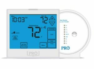 PRO1 T955WH UNIVERSAL 7 DAY 5 1 1 OR NON PROGRAMMABLE THERMOSTAT NEW $126.00