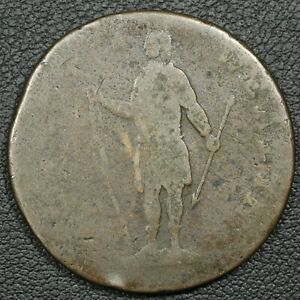 1788 Massachusetts Colonial Copper Cent $60.00