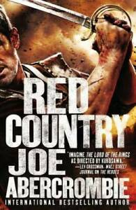 Red Country Hardcover By Abercrombie Joe GOOD