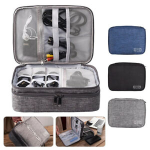 Travel Cable Organizer Bag Electronic Storage Charger USB Drive Case Accessories $14.16