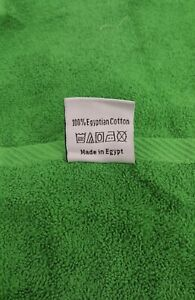 Bath Towel 6 Piece 20 X 40 Inch Cotton 100% Made In Egypt by TERA $12.00