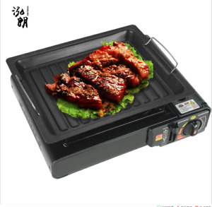 Indoor BBQ Portable Grill Griddle Non Stick Barbecue Smokeless Cooking