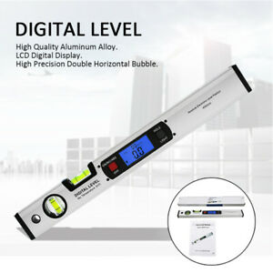 LCD Digital Electronic Angle Finder Goniometer Protractor Measuring Ruler Meter $24.45