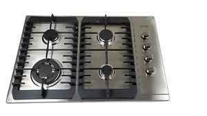 AOTIN 30quot; Stainless Steel 4 Burners Gas Cooktop Built in LPG NG Gas Hob $159.99