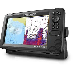 Lowrance Hook Reveal 9 50 200 Fish Finder GPS Plotter $652.70