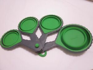 Collapsible Silicone Measuring Cup Set ¼ 1 Cup amp; Metric $2.99